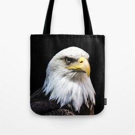 Majestuous Bald Eagle Tote Bag