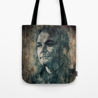 crowley Tote Bags featuring Crowley by Sirenphotos