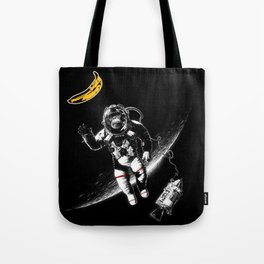 Space Monkey (nd a place to be) Tote Bag