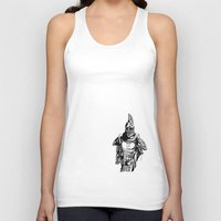 skyrim Tank Tops featuring Dwarven Armour by Daniel Pearson
