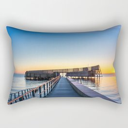 Kastrup Sea Bath, Copenhagen Rectangular Pillow