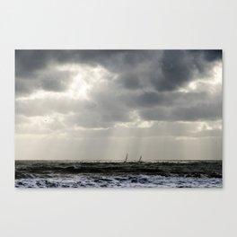 Dark Seaside Canvas Print
