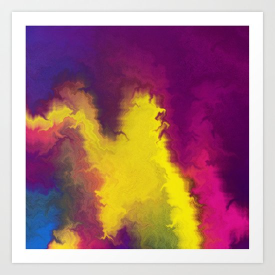 Magical Movement Art Print