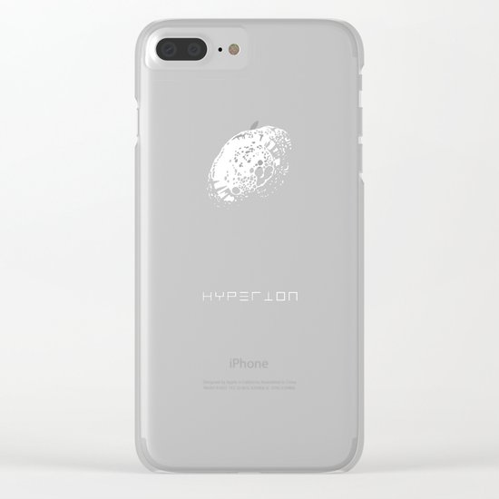 HYPERION Clear iPhone Case