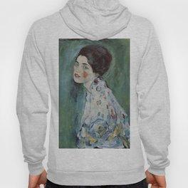 Stolen Art - Portrait of a Lady by Gustav Klimt Hoody