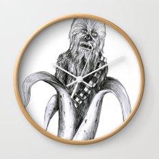 Chewbacca banana Wall Clock