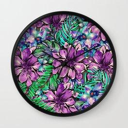 My Tropical Garden 4 Wall Clock