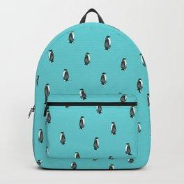 Fractal geometric emperor penguin Backpack