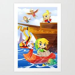 The Wind Waker Art Print