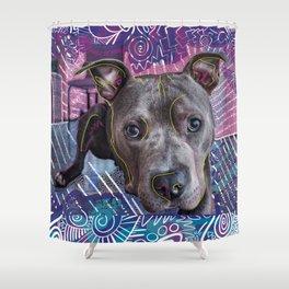 Portrait of a Derg Shower Curtain