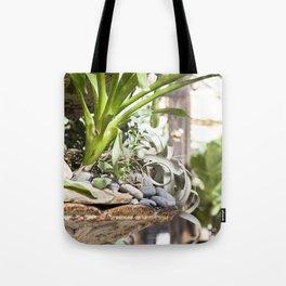 Fountain Garden Tote Bag