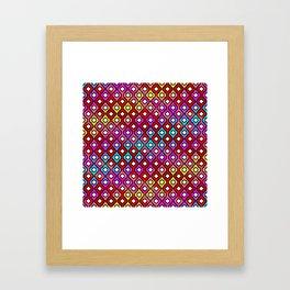 Moroccan pattern Framed Art Print