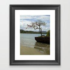 Puerto Viejo Framed Art Print