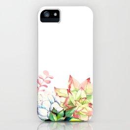 Succulent Medley iPhone Case