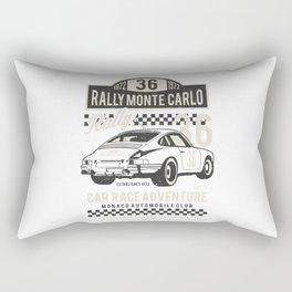 Rally Monte Carlo Rectangular Pillow