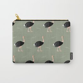 Ostrich parade Carry-All Pouch