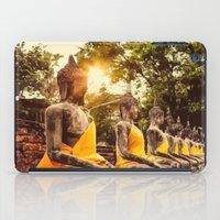 nirvana iPad Cases featuring Buddhist Nirvana by Maioriz Home