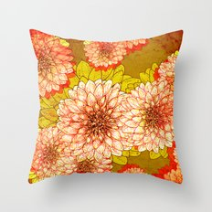 Flower Two A Throw Pillow