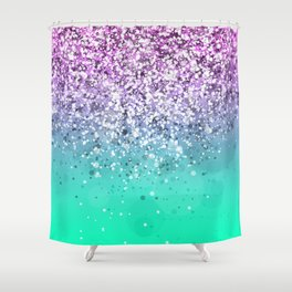 Spark Variations III Shower Curtain