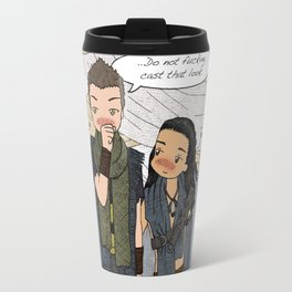 "Nagron ""Do Not Fucking Cast That Look"" (Spartacus) Travel Mug"