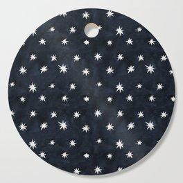 Midnight Starlet Cutting Board