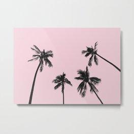 Palm trees 4 Metal Print