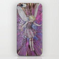 Pink Lady Garden Fairy Art iPhone & iPod Skin
