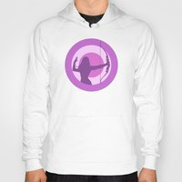 avenger Hoodies featuring Kate Bishop: Young Avenger by semisweetshadow