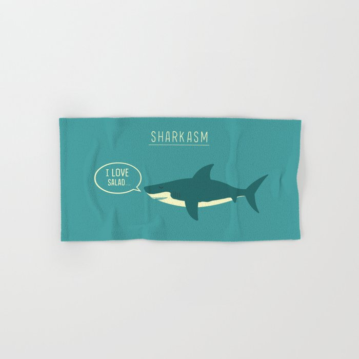 Sharkasm Hand & Bath Towel