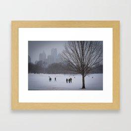 Southern Winter Framed Art Print