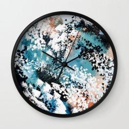 Oceana Abstract Wall Clock