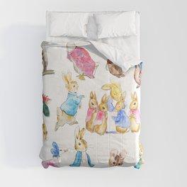 Tales of Peter Rabbit  characters Beatrix Potter Comforters