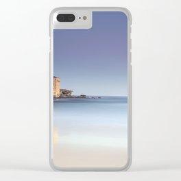 Fisherman on Bondi Beach Australia Clear iPhone Case