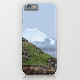 iceberg off the north coast of Newfoundland iPhone Case