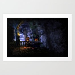 Castlevania: Vampire Variations- Bridge Art Print