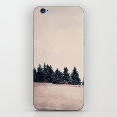 summer field iPhone Skin