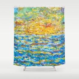 Ultreia Shower Curtain