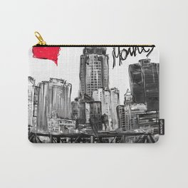 I love Des Moines Carry-All Pouch