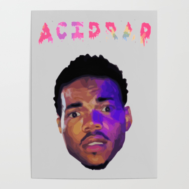 Acid Rap Chance Poster By Fafa89 Society6