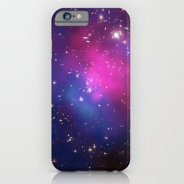Dark Matter and Galaxies in a Cluster iPhone Case