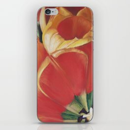 Tulips One Heart iPhone Skin