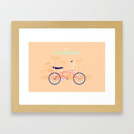 Lil' Gangsta Framed Art Print