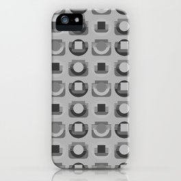 Play of Gray iPhone Case