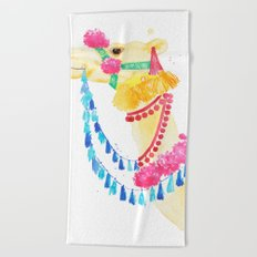 Marrakesh Camel Beach Towel