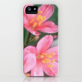 Key West Pink iPhone Case