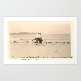 Love on a Bicycle Art Print