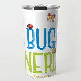 Kids Bug Nerd Insect Hunter Kid Gift Travel Mug