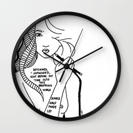 Poetry You Never Read Wall Clock