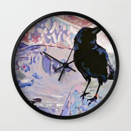 Skater (Canuck the Crow #6) Wall Clock