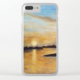 DoroT No. 0024 Clear iPhone Case